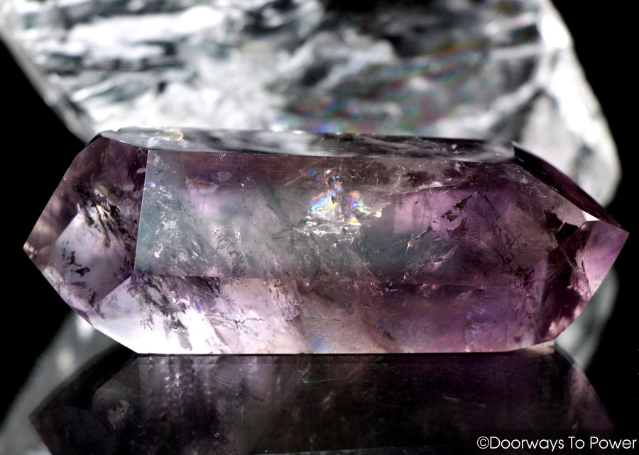 John of God Amethyst Double Terminated Double Dow Crystal