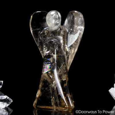 John of God Blessed Healing Crystal Angel