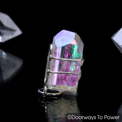 Angel Aura Danburite Synergy 12 Crystal Pendant