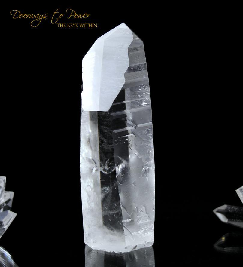 Lemurian Record Keeper Crystal 'Light Language 9D'