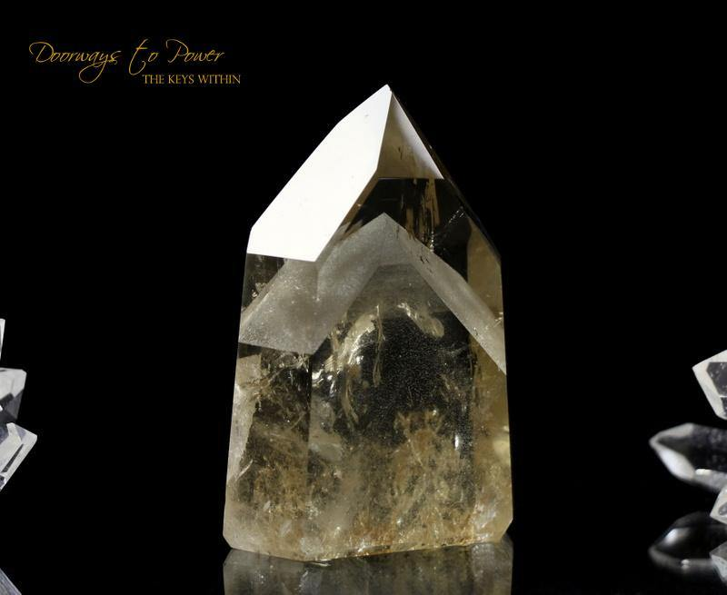 Citrine Phantom Quartz Crystal