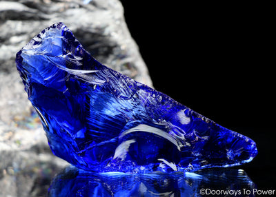 Tanzanite Fire Monatomic Andara Crystal