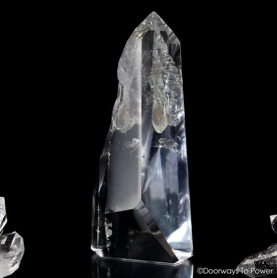 Lemurian Lightbrary Quartz Crystal 'ERA of LIGHT'