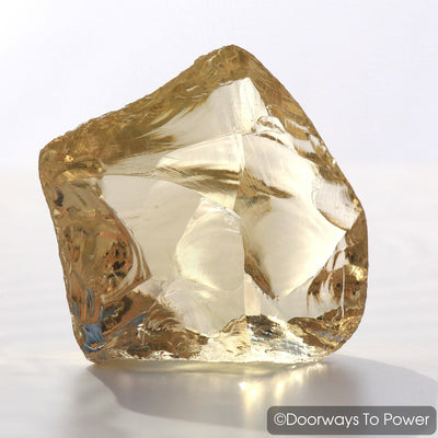 Celestial Gold Monatomic Andara Crystal 'Golden Light Merkaba'