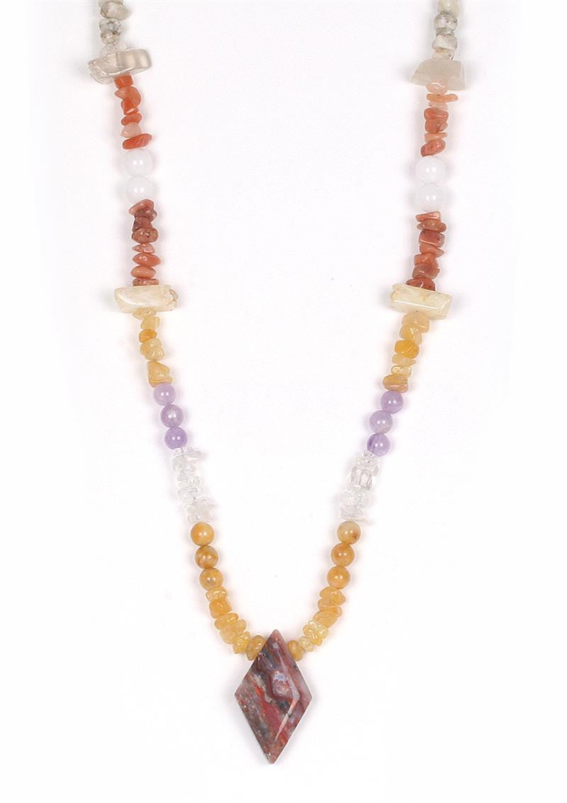 The Azozeo 12 Azeztulite Crystal Necklace