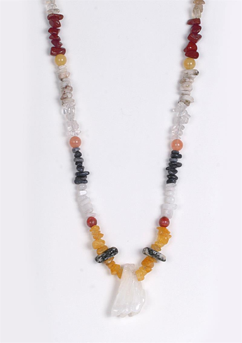 Azeztulite 16 Power Strand Crystal Energy Necklace