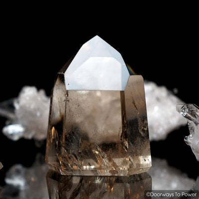 John of God Crystal Smoky Citrine Quartz Point