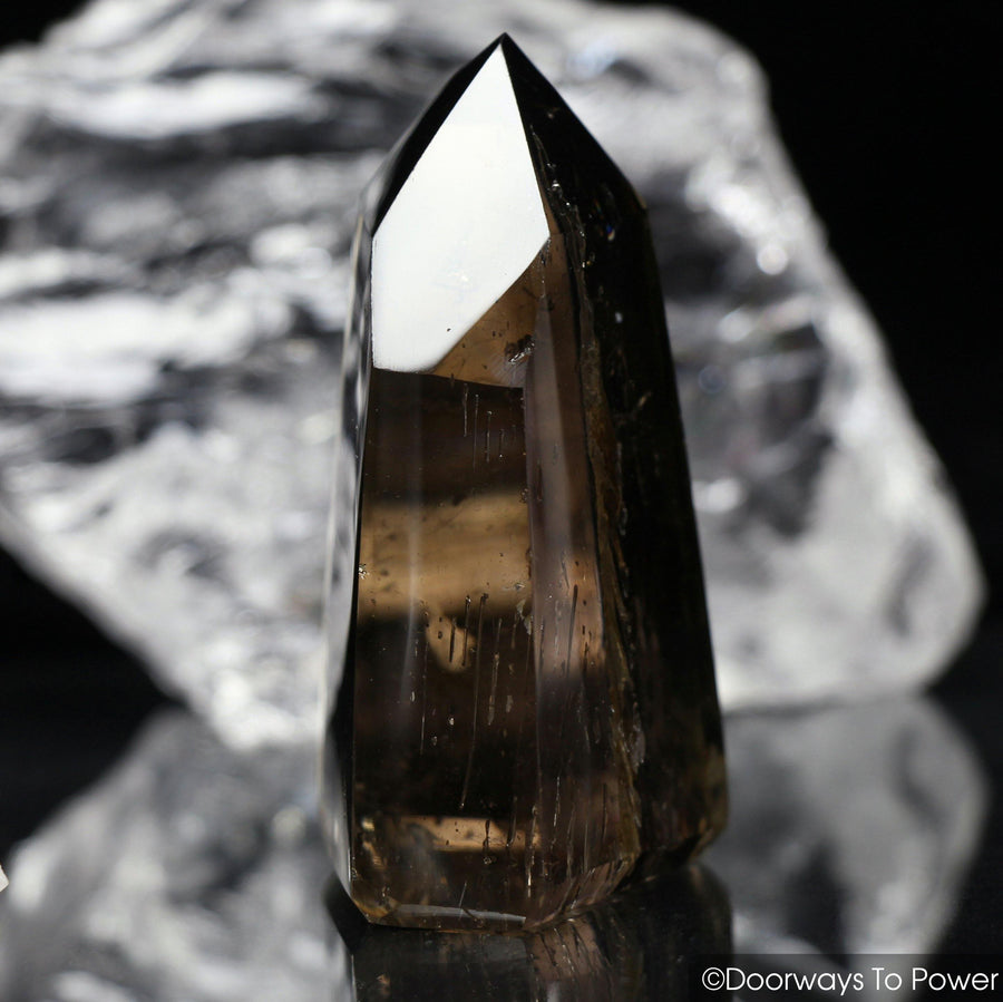 John of God Smoky Quartz Isis Crystal Point