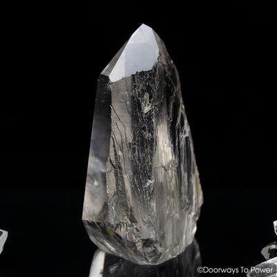 Lemurian Quartz Crystal 'Light Language Royalty' 9D Energy Gateway
