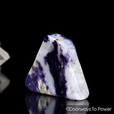 Violet Flame Opal Polished & Tumbled Stone Crystal