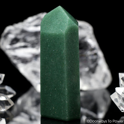 John of God Green Aventurine Quartz Casa Crystal