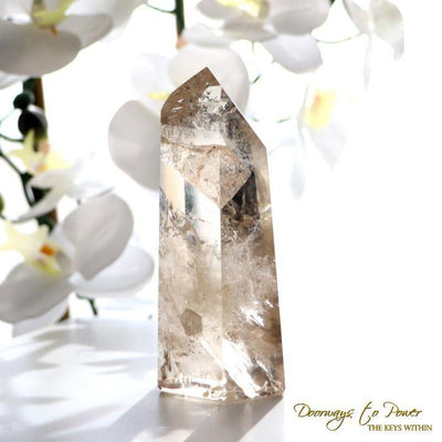 Golden Citrine Quartz Point