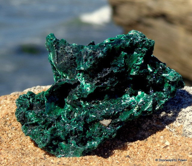 Malachite Cave Crystal