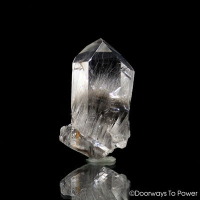 Brookite in Quartz Synergy 12 Stone Record Keepers Pleiadian Starbrary channeling