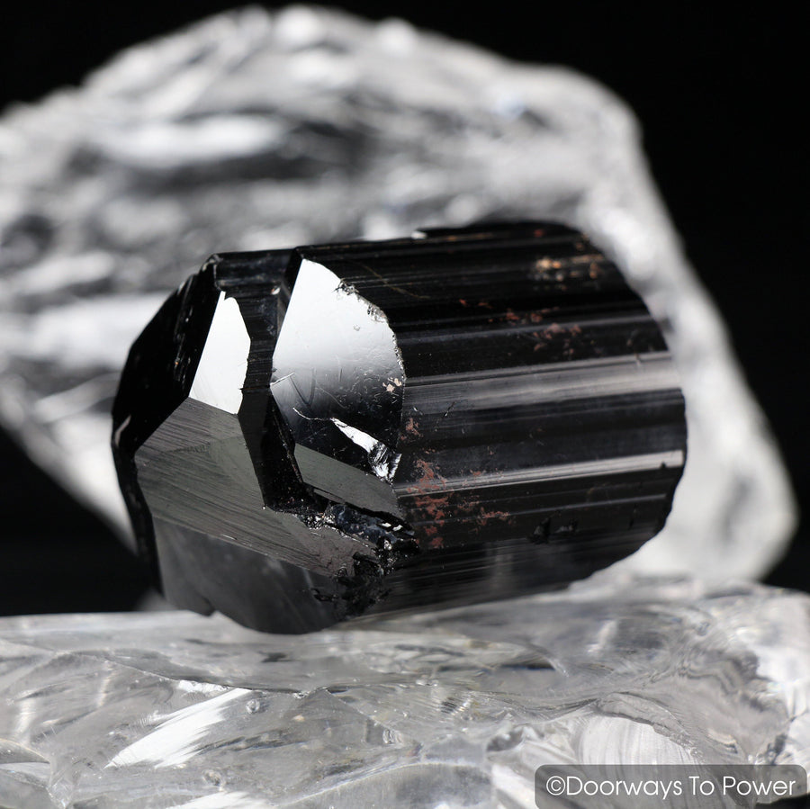 Black Tourmaline Crystal & Protection Gemstone