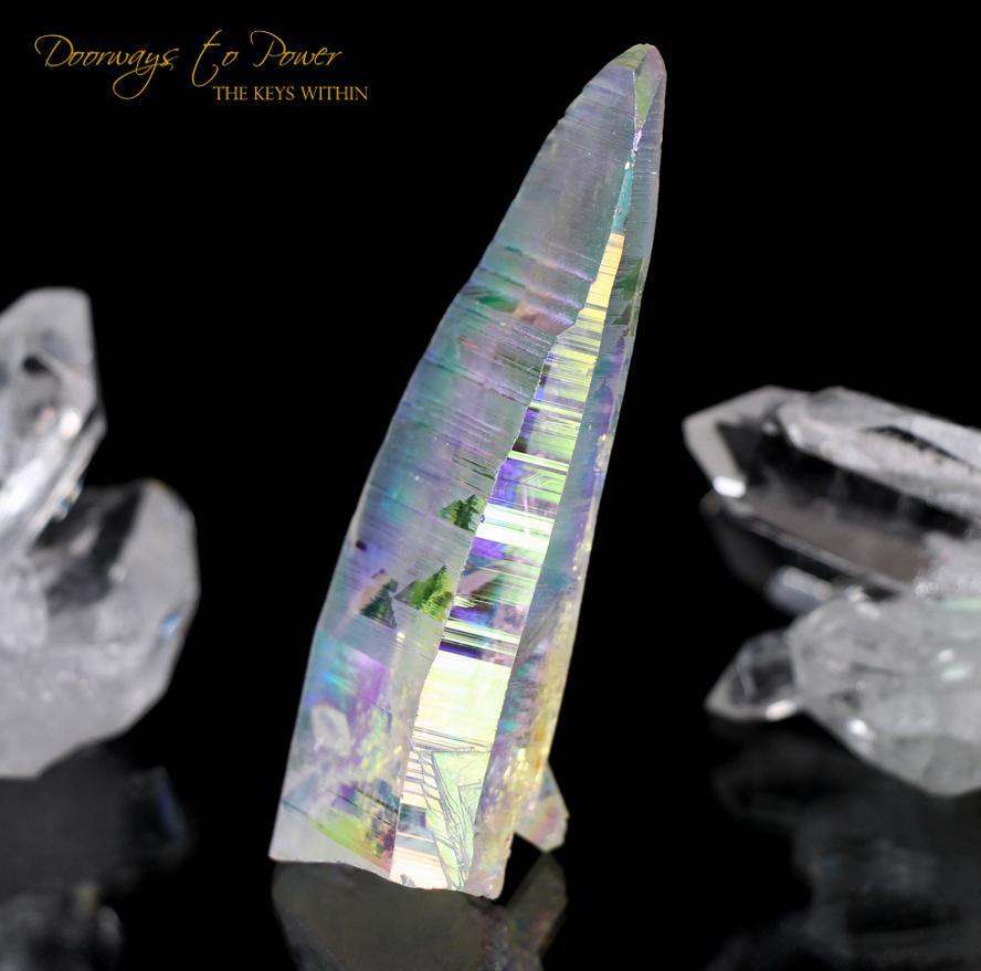 Angel Aura Lemurian Quartz