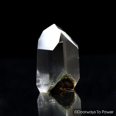 Brookite in Quartz Dow Crystal Point | Synergy 12