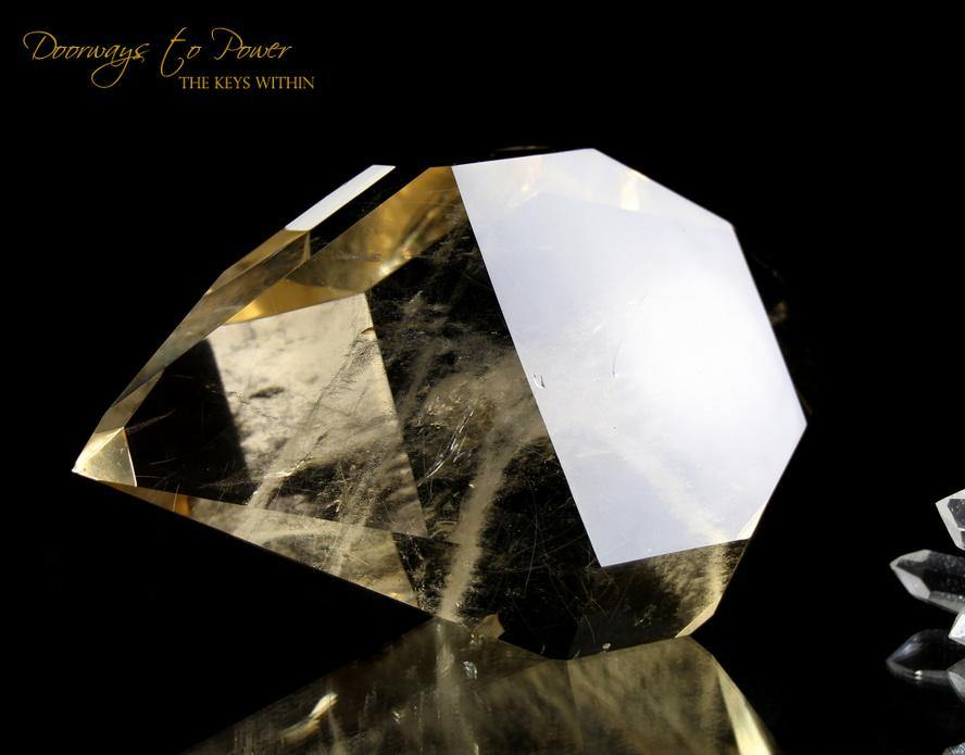 Citrine Double Terminated Quartz Isis Crystal 'Abundance Stone'