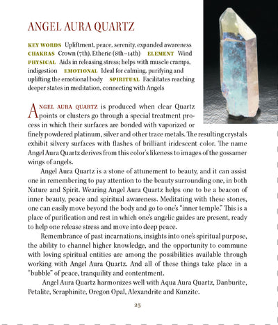 Angel Aura Metaphysical Properties Book of Stones