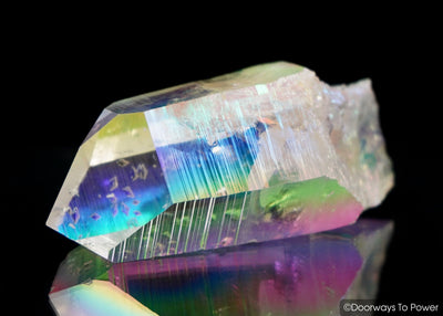 Angel Aura Lemurian Quartz Pleiadian Starbrary Record Keeper Crystal