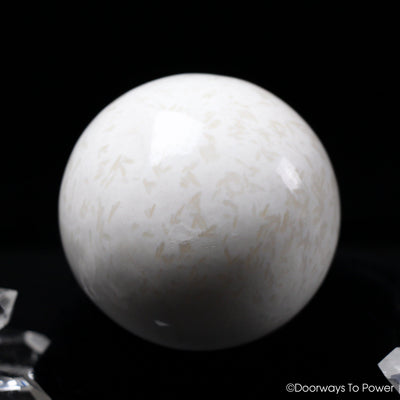 Scolecite Crystal Sphere
