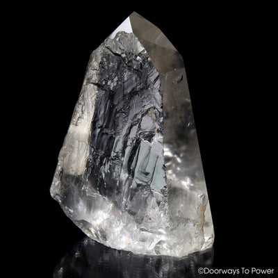 Lemurian Quartz Crystal 'Light Language' 9D Energy Gateway