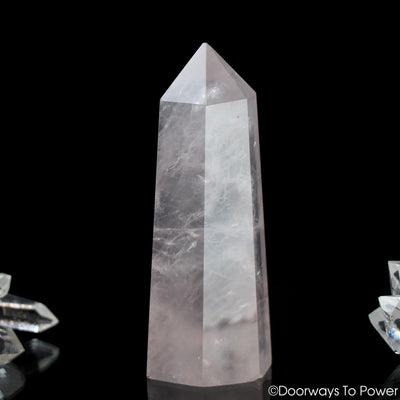 John of God Crystal Rose Quartz Casa Crystal Generator Point