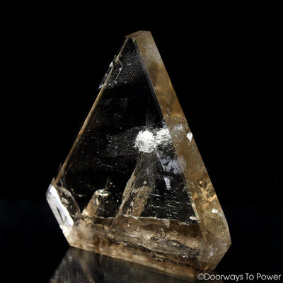 John of God Triangle Crystal Sculpture