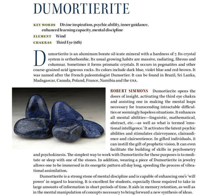 Dumortoerite Properties