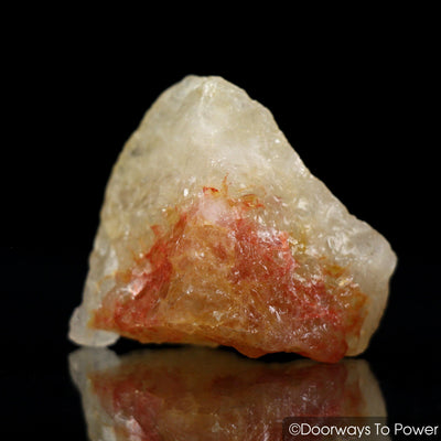 Himalaya Red Gold Azeztulite Raw Crystal