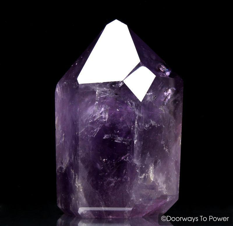 John of God Amethyst Quartz Devic Temple Master Crystal