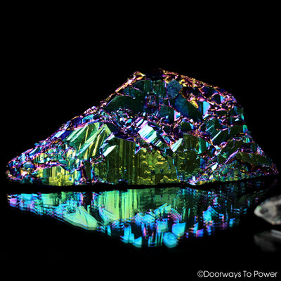 Titanium Aura Quartz DT Master Record Keeper Crystal 'Frequency Shifter'