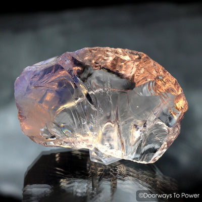 Arcturian StarSeed Pink Monatomic Andara Crystal 'Quantum Light Pod'
