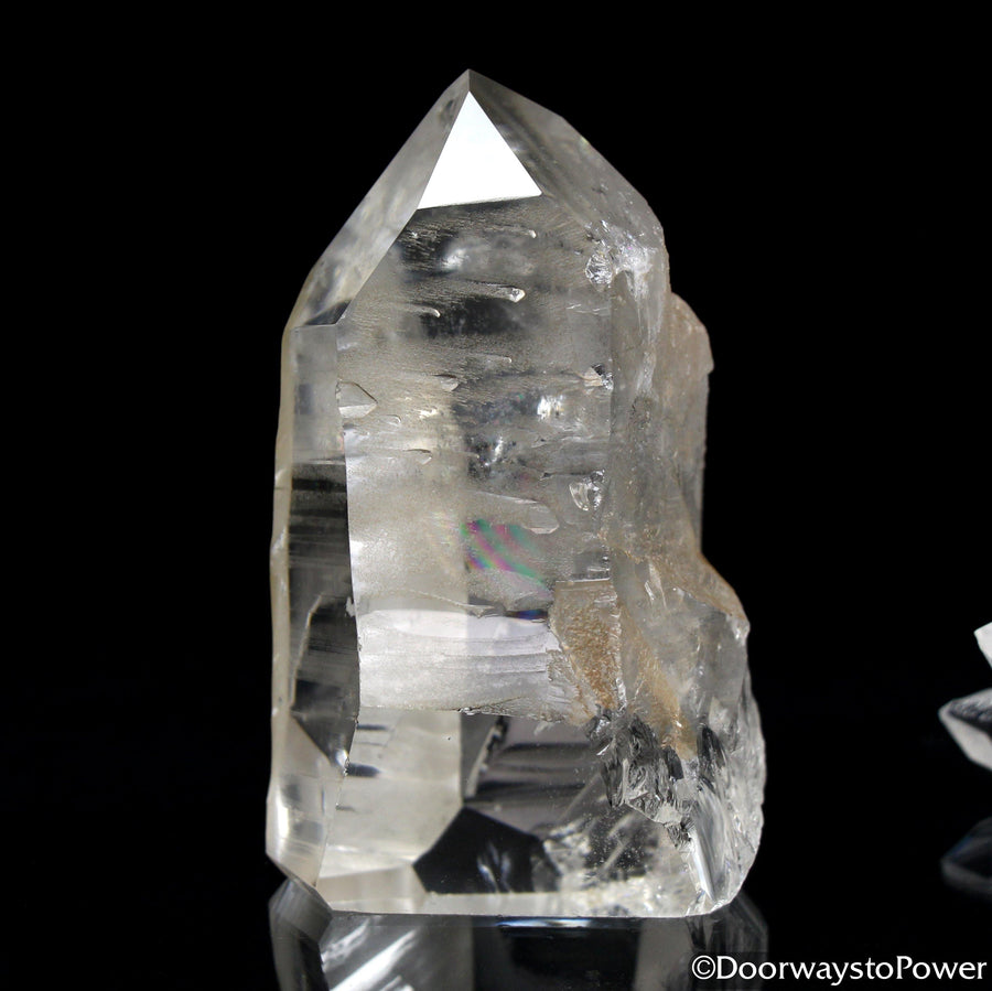 Lemurian Seed Quartz Crystal Record Keeper