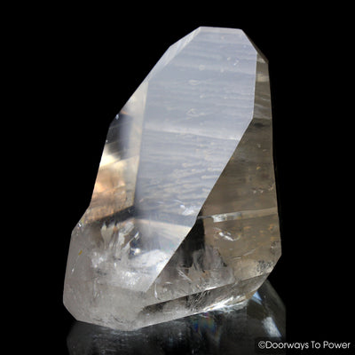 Lemurian Quartz Master Crystal 'Old Soul' Record Keeper