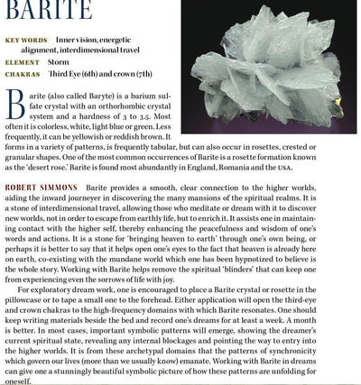 Barite Metaphysical Properties