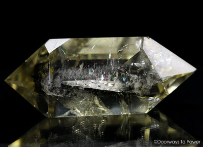 John of God Citrine Quartz Crystal