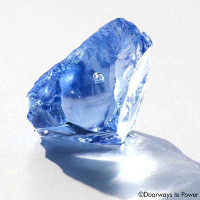 Gem Lady Nellie Blue Monatomic Andara Crystal 'The Blue Flame'