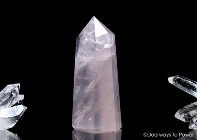 John of God Blessed  Rose Quartz Casa Crystal
