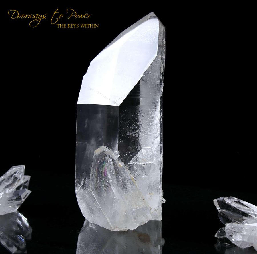 Starseed Lemurian Quartz Crystal Point