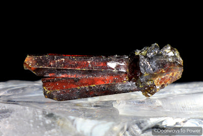 Zincite Tantric Twin Crystal Specimen A+++ Collectors Quality