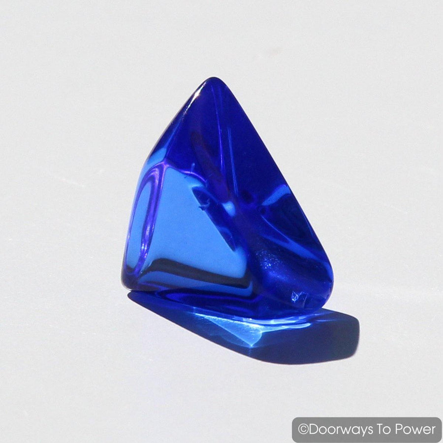 Siberian Blue Quartz Crystal Triangle
