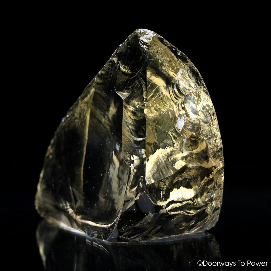 Celestial Gold Monatomic Andara Crystal  'Grand Shift'