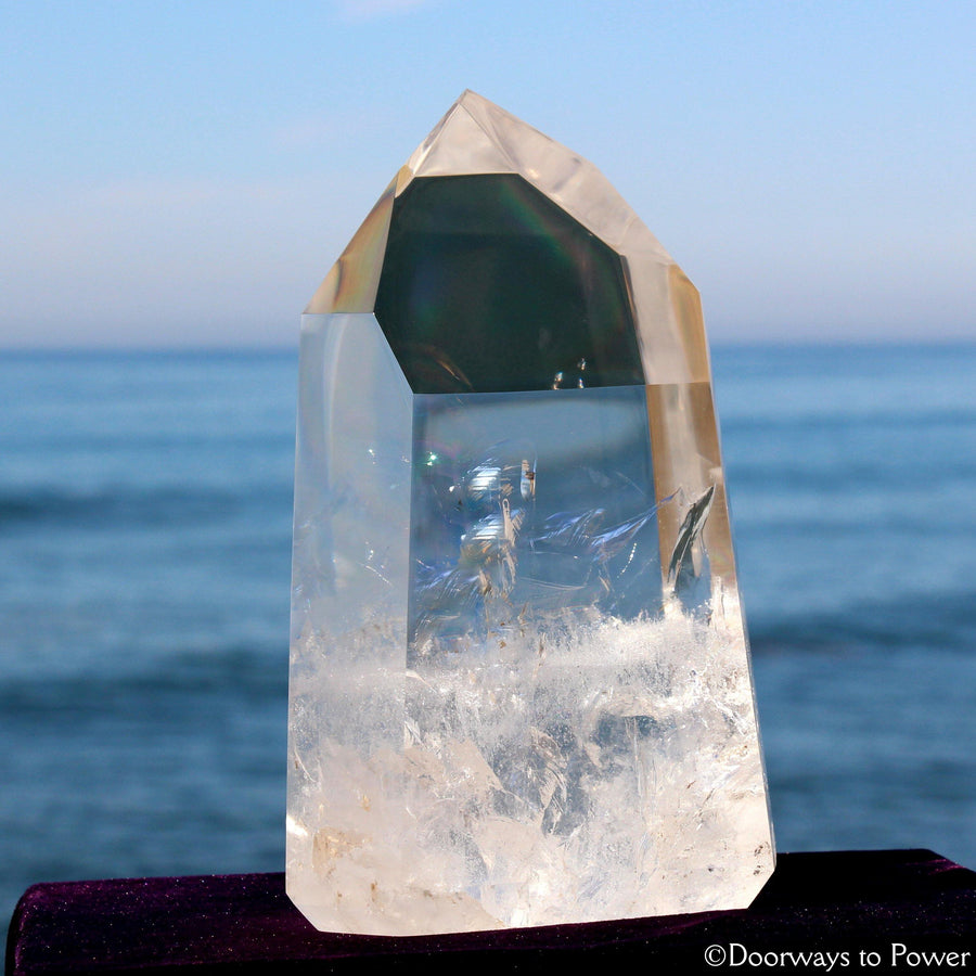 John of God Quartz Master Crystal 'Pure Light & Perfection'