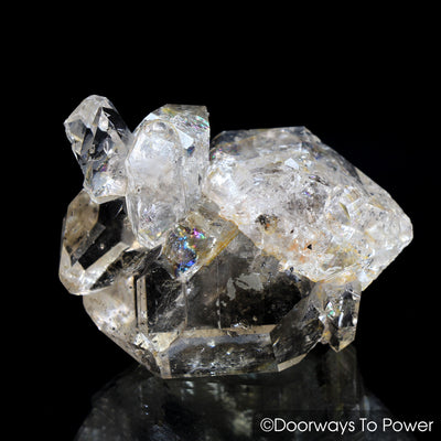 Herkimer Diamond DT Pleiadian Starbrary Record Keeper Crystal