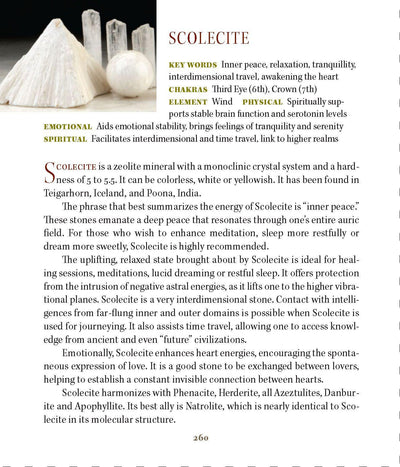 Scolecite Metaphysical Properties