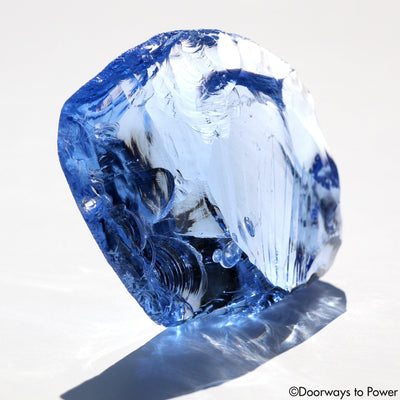 Lady Nellie Blue Monatomic Andara Crystal Gem 'Magical Blue Flame'