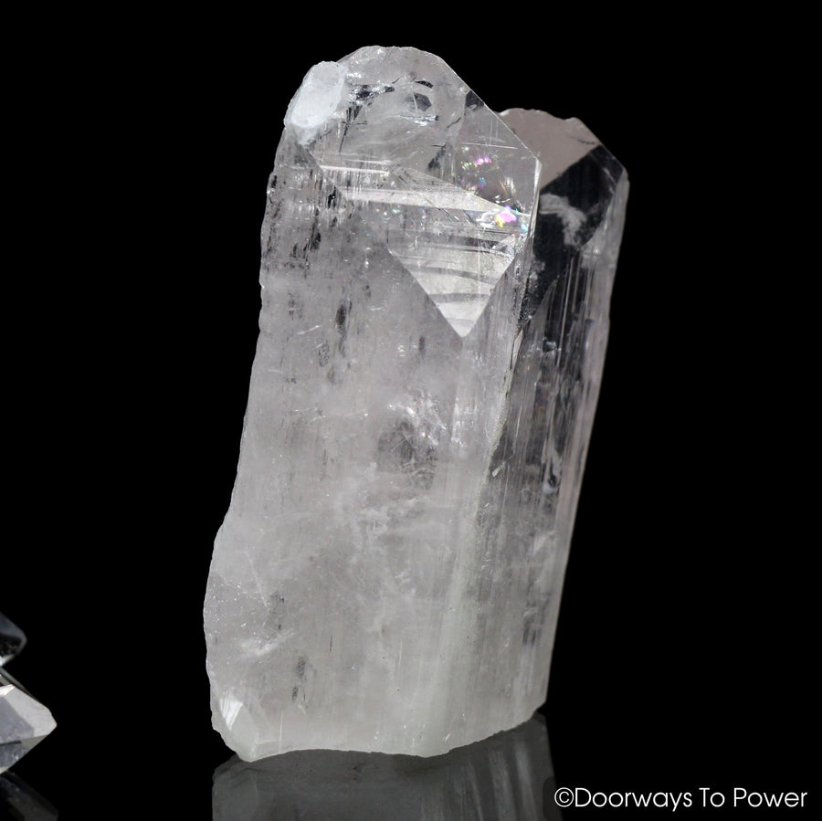 Danburite Twin Soul Quartz Crystal w/ Rainbows 'BELOVED'