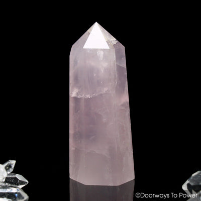 John of God Blessed Rose Quartz Casa Healing Crystal
