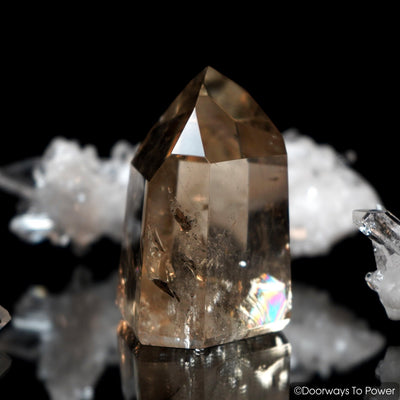 John of God Smoky Citrine Quartz Master Dow Crystal